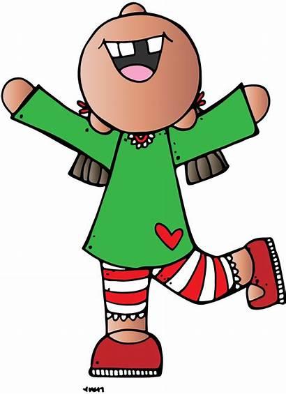 Clipart Lds Christmas Days Pajama Child Melonheadz