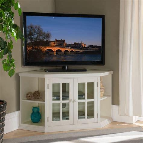 50+ White Small Corner Tv Stands  Tv Stand Ideas