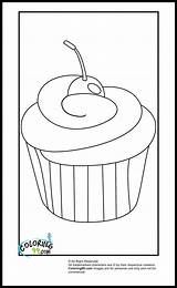 Coloring Pages Cupcake Cupcakes Easy Colouring Ice Cream Sheets Fun Books Patterns Printable Teamcolors Colors Ak0 Team Printables Icolor sketch template