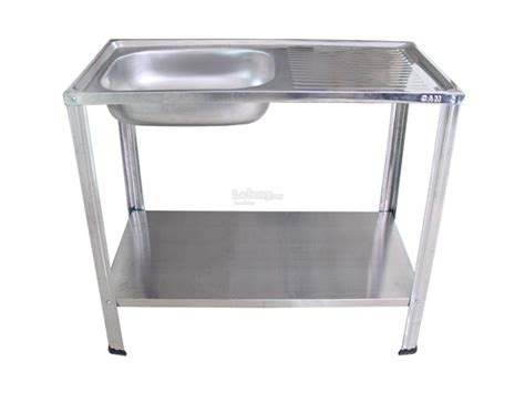 portable kitchen sink with stand brand diy stainless steel single end 9 22 2018 9 15 am