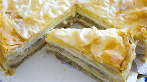 geschichtete apfel nuss torte mit verpoorten original