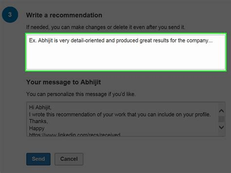 how to write a linkedin recommendation with free sles
