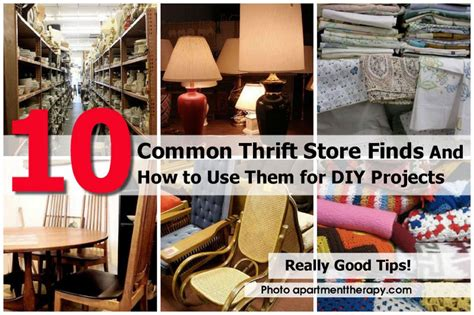 Apartment Therapy Thrift Store by 10 Common Thrift Store Finds And How To Use Them For Diy
