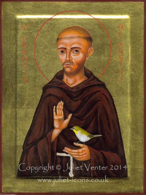 st francis of assisi icon icons of st francis juliet juliet icons illuminations