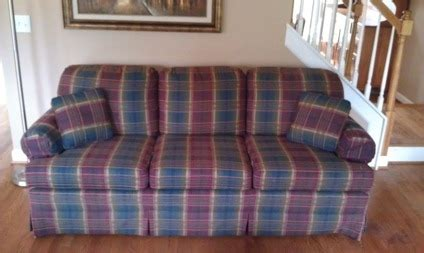 plaid sofas for sale 95 obo clayton marcus plaid sofa for sale in spring hill