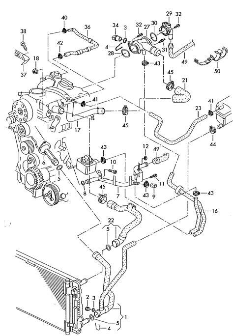 Steering Diagram 2004 Jettum Tdi by Volkswagen Passat 1 9l Tdi Water Cooling 1 9ltr