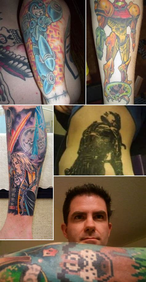 top   tatuagens gamers mais curiosas noticias