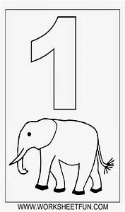 Number Coloring Sheets Free Coloring Sheet
