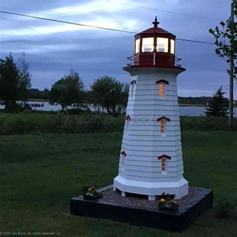 Well i really hope woodworking plans for lighthouse article make you know more even if you are a beginner in this field. Peggys Cove Lighthouse Woodworking Plan 10ft tall - WoodworkersWorkshop