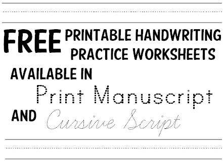 handwriting print letters