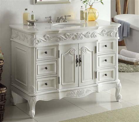 guide  antique white vanities interior decorating