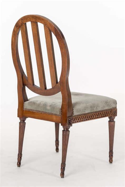 lot de chaise salle a manger six chaises de salle à manger d 39 époque louis xvi