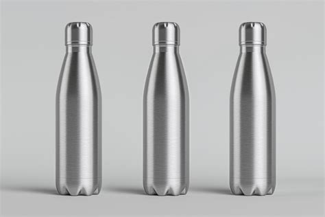 The best bottle mockups free download for your next project. Metal Psd Vacuum Bottle Mockup | Psd Mock Up Templates ...