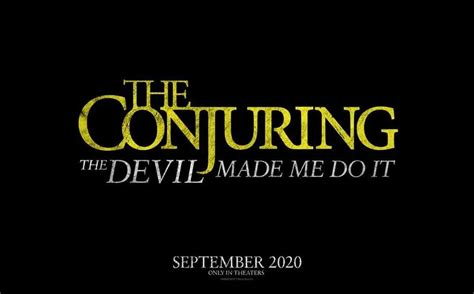 This is the true story. The Conjuring 3: The Devil Made Me Do It (2020) - Plot & Trailer | Heaven of Horror