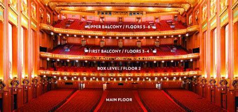 boston opera house seating chart dress circle
