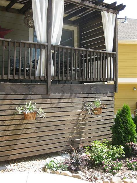 best 25 deck skirting ideas on pinterest deck storage