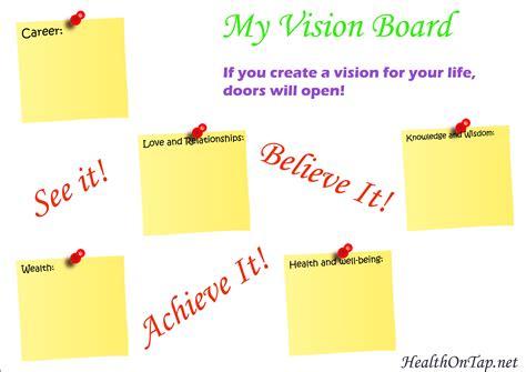 Vision Board Template Vision Board Template