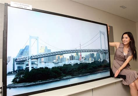 Samsung's new 82 inch LCD TV