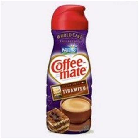 Л., шоколад горький — по вкусу, кофе эспрессо — 300 мл, марсала — 1 стакан, печенье савоярди — 200 г. Nestle Coffee-Mate Tiramisu Liquid Creamer Reviews - Viewpoints.com
