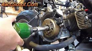 Scooter Flywheel Removal With The Proper Tools  Flywheel