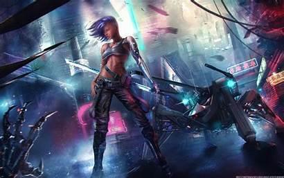 Cyberpunk Asian Wallpapers Fantasy Desktop 4k Backgrounds