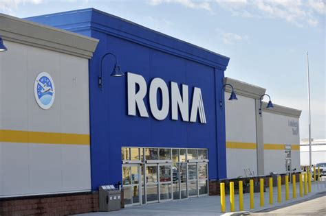 rona se rapproche des clients avec louverture dun