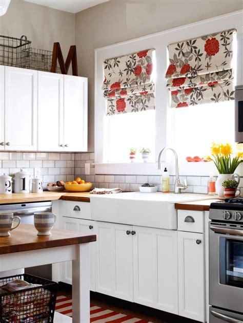 fresh ideas   kitchen window treatments
