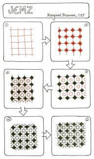 Zentangle Square Patterns