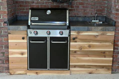 outdoor kitchen sink cabinet rustic outdoor kitchen ideas upmount sink natural and