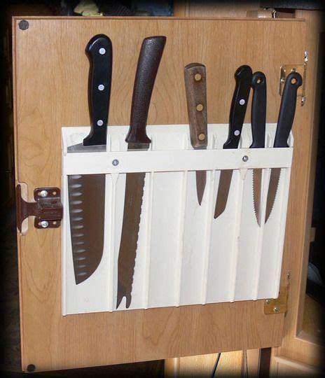 kitchen knife storage ideas 19 best kitchen knife storage images on