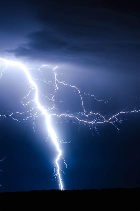 lightning ground storm photo  brandon morgan