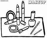 Coloring Makeup Face Tools Printable Coloringway Wallpaperartdesignhd Eyeshadow Colorings Worksheets Via Popular sketch template