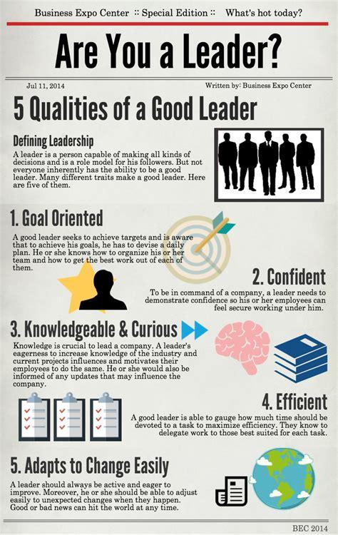 characteristics   good leader business