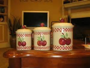 apple canisters for the kitchen apple kitchen decor kitchen a