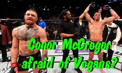 Fighter Ufc Conor Mcgregor Afraid