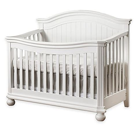 white crib sorelle finley 4 in 1 convertible crib in white buybuy baby