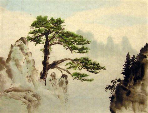 chinese brush painting diana wong landscape