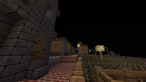 pimped   generated town  aesthetic features minecraft map