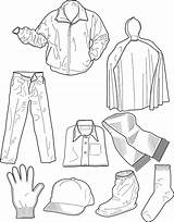 Colouring Pages Clothing Coloring Winter Clothes Printable Dresses Sheet Sheets Intheplayroom Coat Pdf Warm Popular sketch template