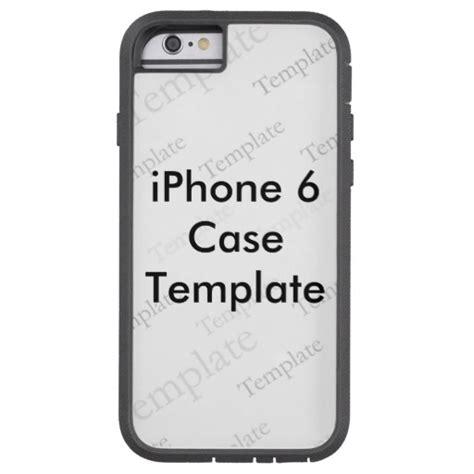 iphone 6 template new iphone 6 tough custom template zazzle