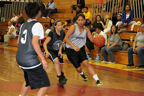 Youth Tear Up The Court At Basketball Tourney In Hollywood