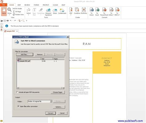 Pdf To Word Convert Easily Step By Step Method With