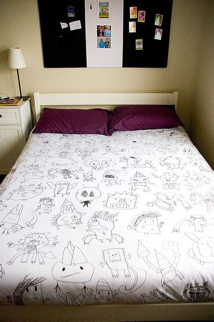 How Do You Use A Duvet Cover by Monsters On Your Bed A Diy Duvet Cover Offbeat Home Life