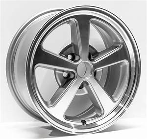"2003-2004 Ford Mustang Replacement Wheel 17""X8"" 5 Spoke, Charcoal Machined Finish - Walmart.com ..."