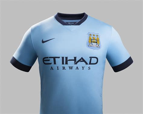 Nike and Manchester City Unveil Home Kit for 2014-15 ...