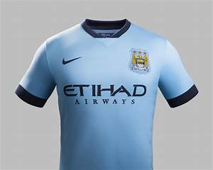 nike and manchester city unveil home kit for 2014 15