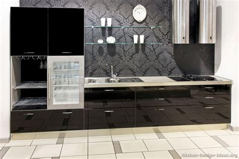 black kitchen design ideas pictures of kitchens modern black kitchen cabinets
