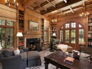 French Country Living Room Picture