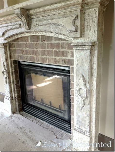 distressed fireplace mantels 25 best ideas about distressed fireplace on