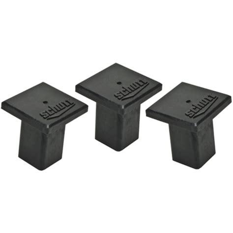 schutt base anchor square rubber plugs schutt